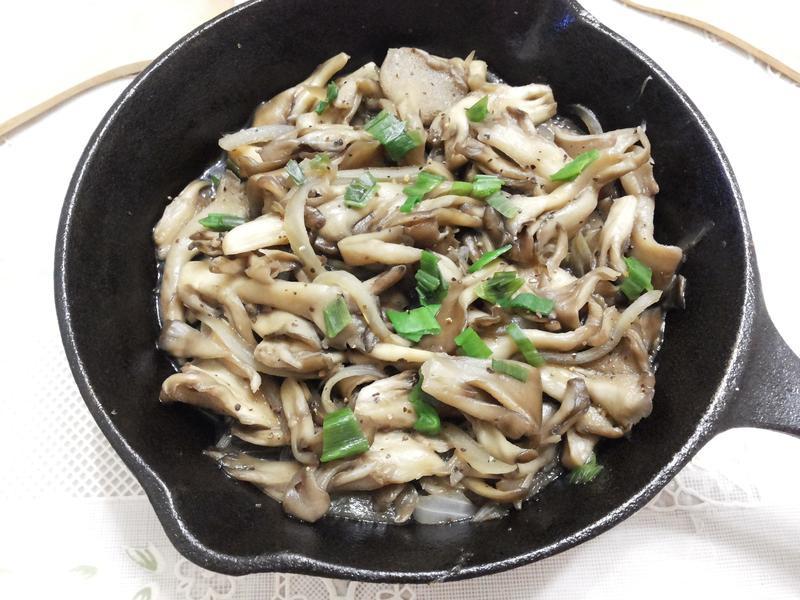 鐵板奶油黑胡椒菇【好菇道美味家廚】