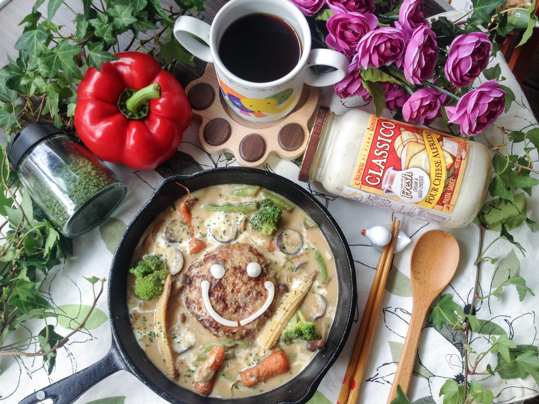 奶油起司燉漢堡-CLASSICO義麵醬