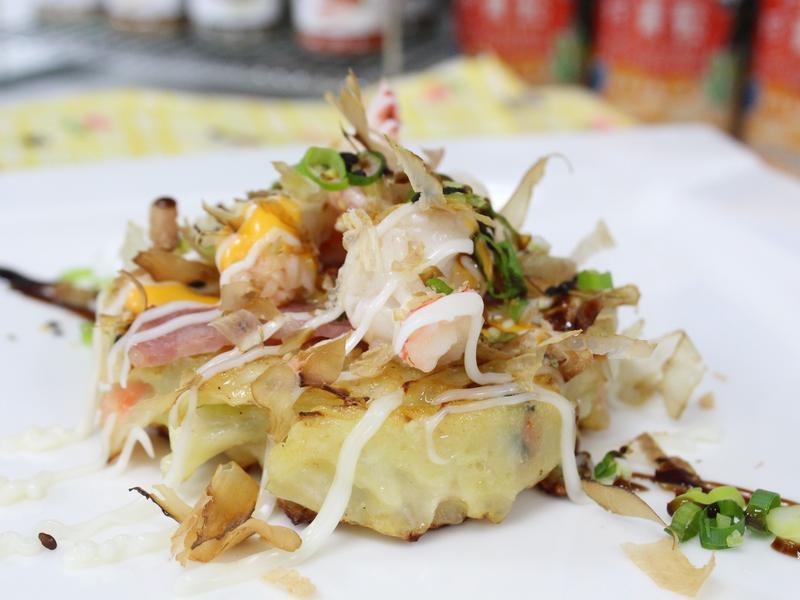 珍青鬆乳酪什錦大阪燒(親子影音食譜)