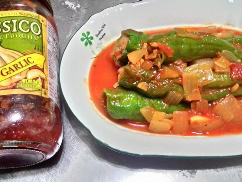 糯米椒鑲肉-CLASSICO蕃茄醬活動