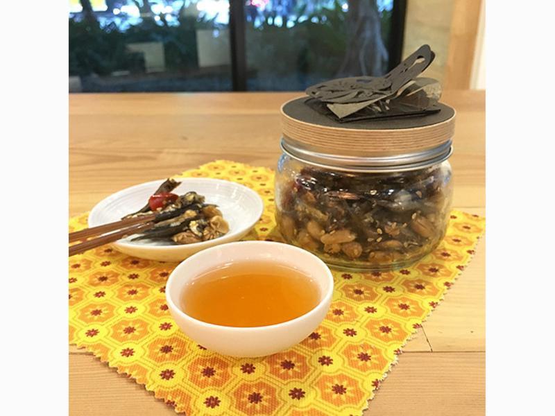 梅酒食譜 - 蜂蜜丁香花生