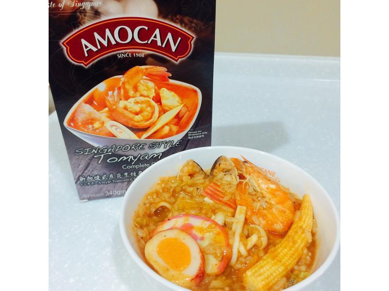 快速料理酸辣海鮮燉飯