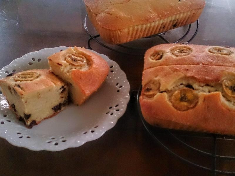 小烤箱-香蕉巧克力磅蛋糕