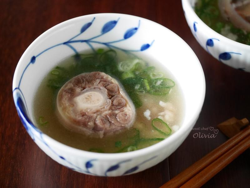膠原養顏牛尾湯&辣炒冬粉煲