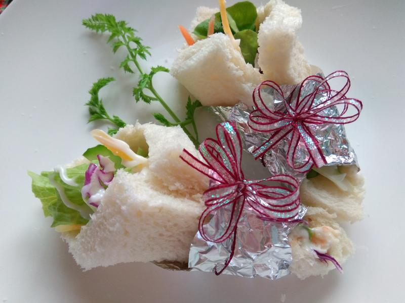 沙拉手捲─小七野餐趣