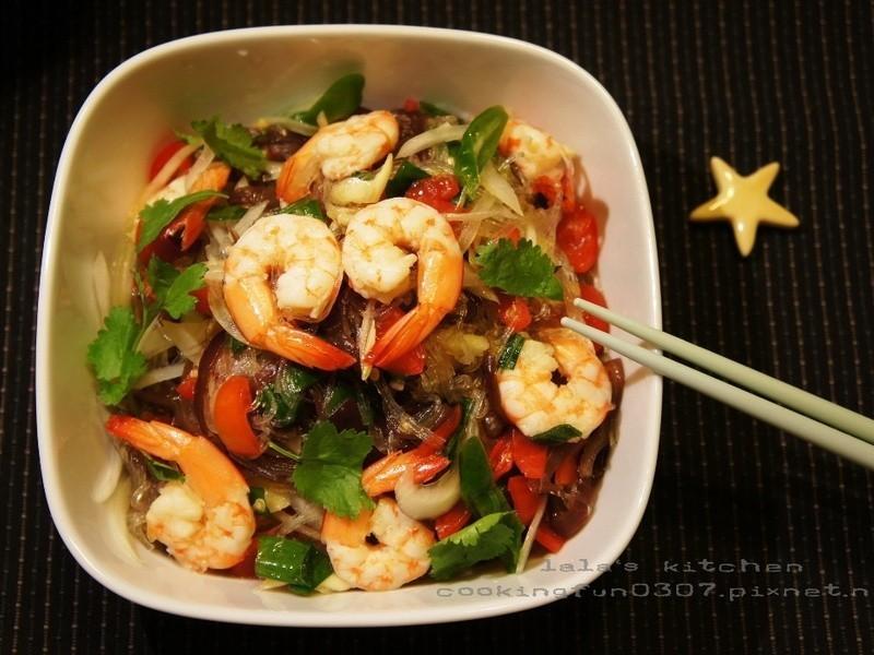 泰式涼拌鮮蝦冬粉