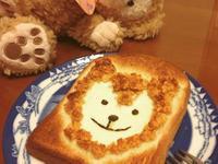 達菲熊造型吐司_雀巢玉米脆片