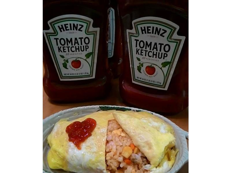 (亨氏蕃茄醬)蛋包飯
