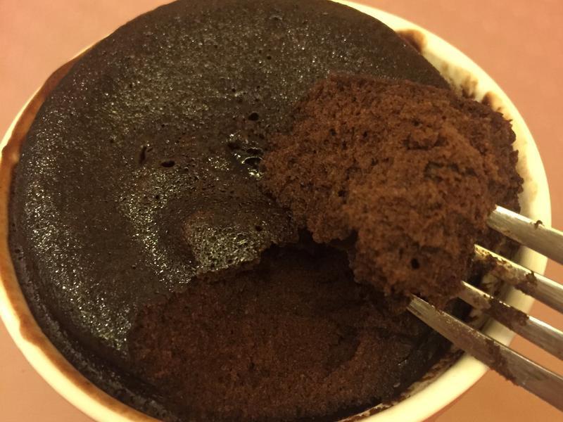 微波爐朱古力蛋糕
