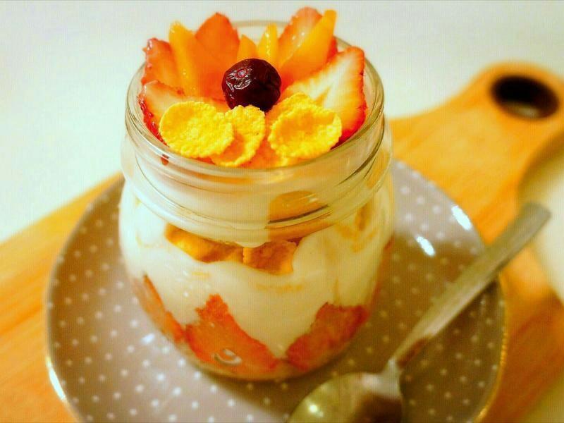 水果優格玉米脆片『雀巢玉米脆片』