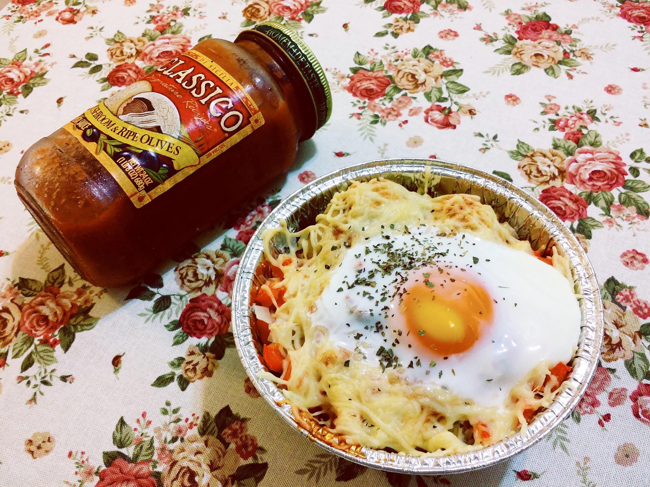 焗烤太陽蛋馬鈴薯_CLASSICO義麵醬
