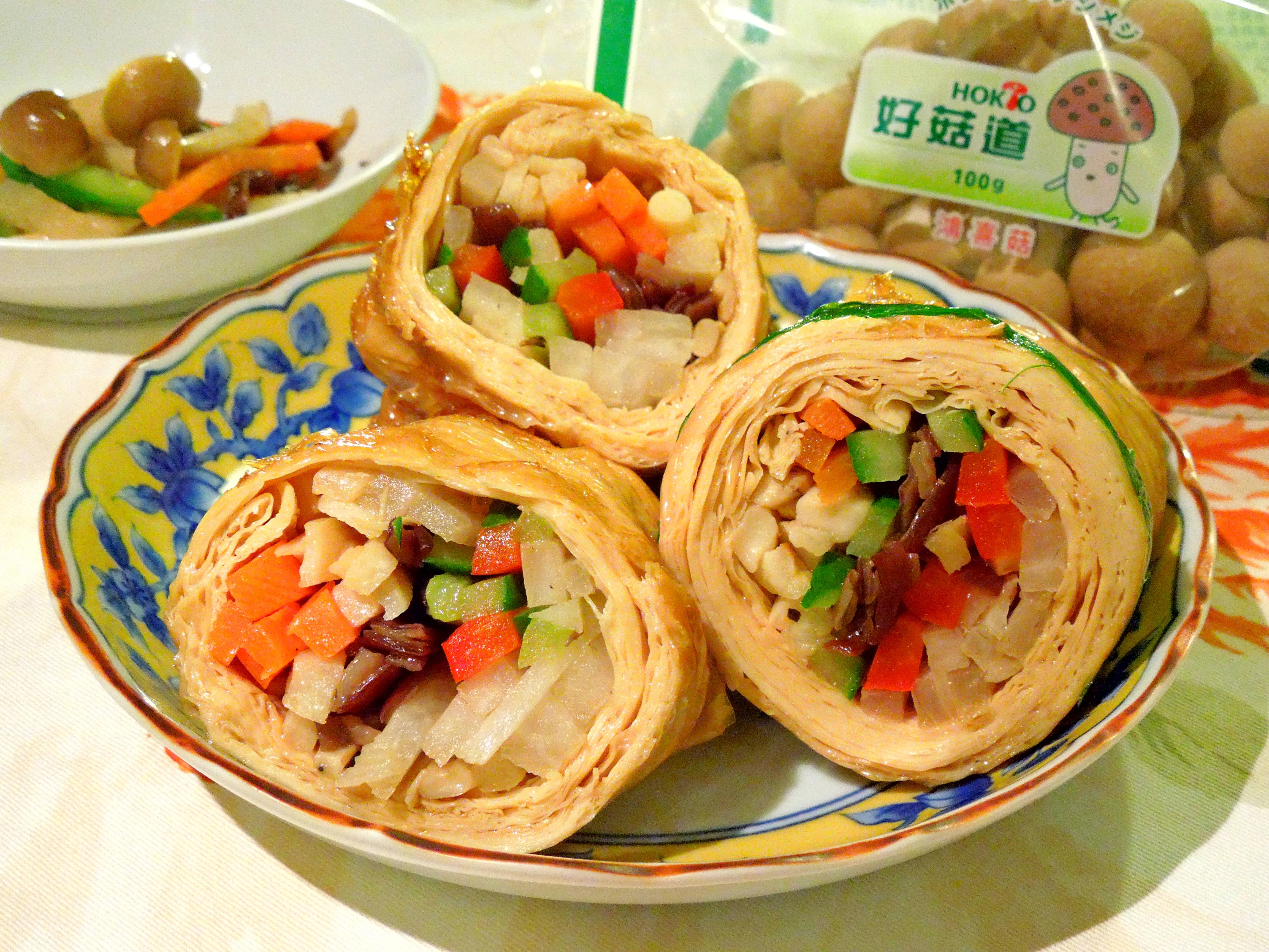 好菇蔬菜豆包捲-好菇道美味家廚