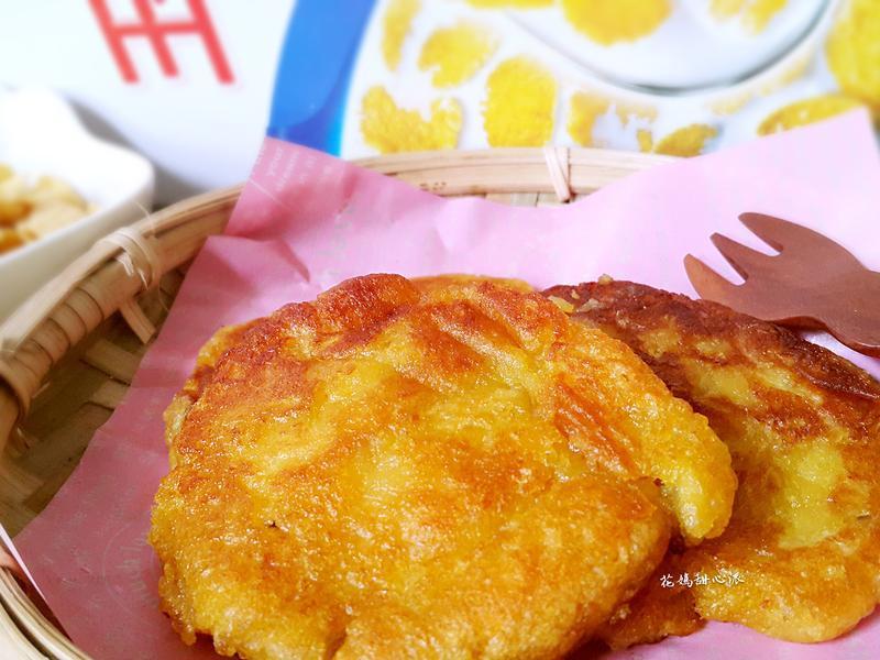 地瓜玉米脆片煎餅(雀巢玉米脆片)