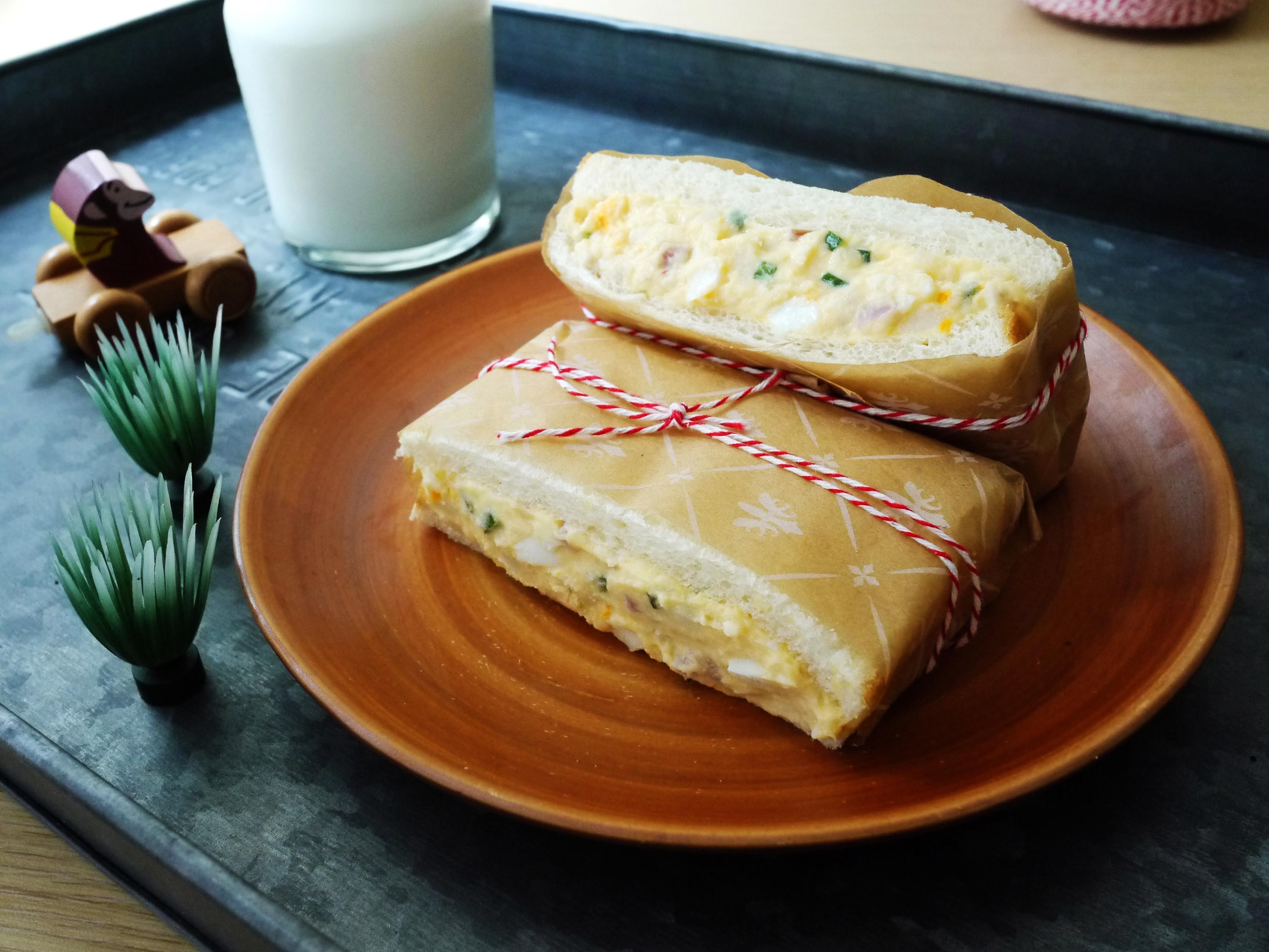 馬鈴薯雞蛋三明治【全聯24節氣料理】