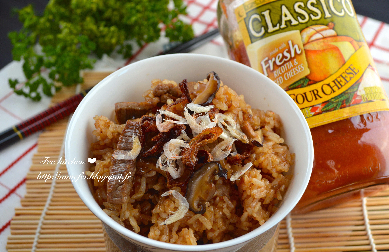 紅醬香菇肉絲油飯_CLASSICO義麵醬