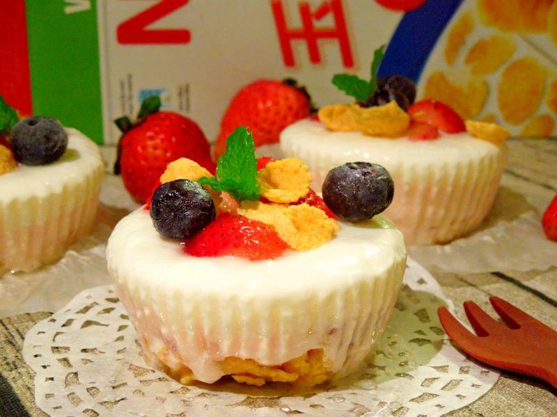 莓果凍糕『雀巢玉米脆片』