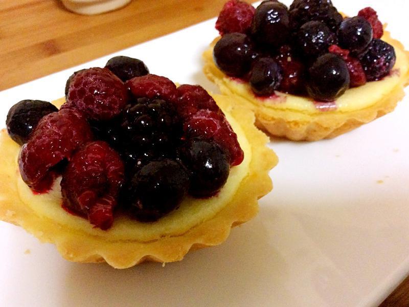 莓果乳酪起司塔