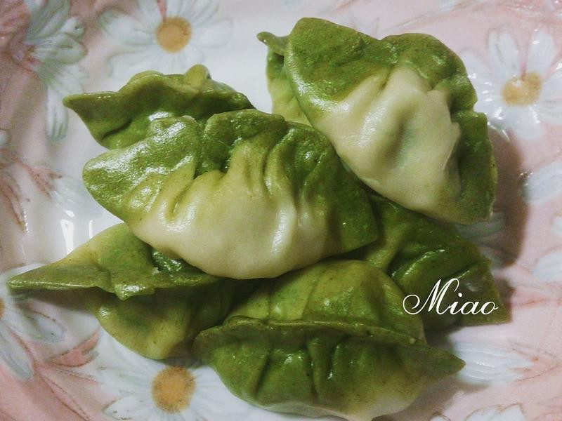 偽翠玉白菜-韭菜水餃