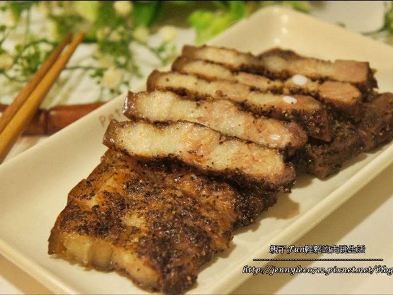 烤箱料理-客家五香鹹豬肉