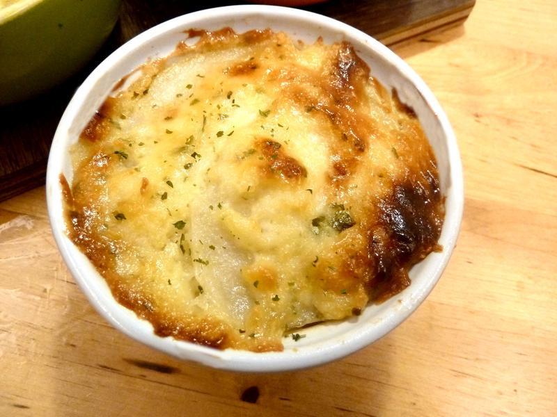 《永新沙拉》焗烤香蔥千層馬鈴薯~無起司絲