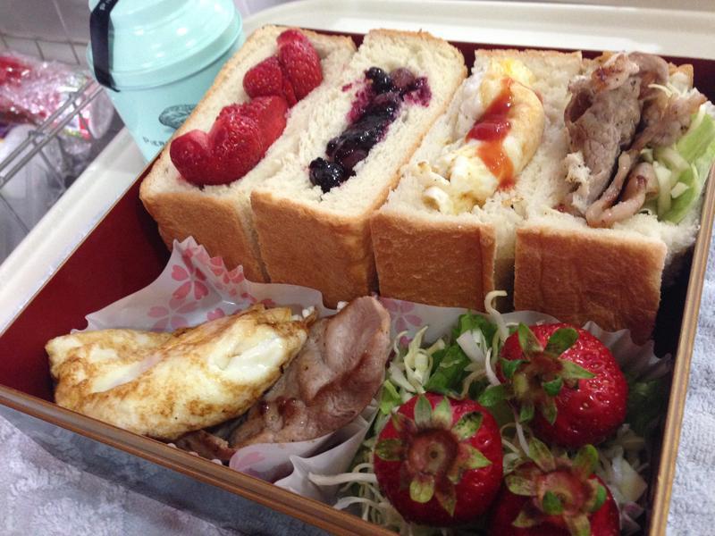 【花見野餐盒特集】口袋吐司三明治