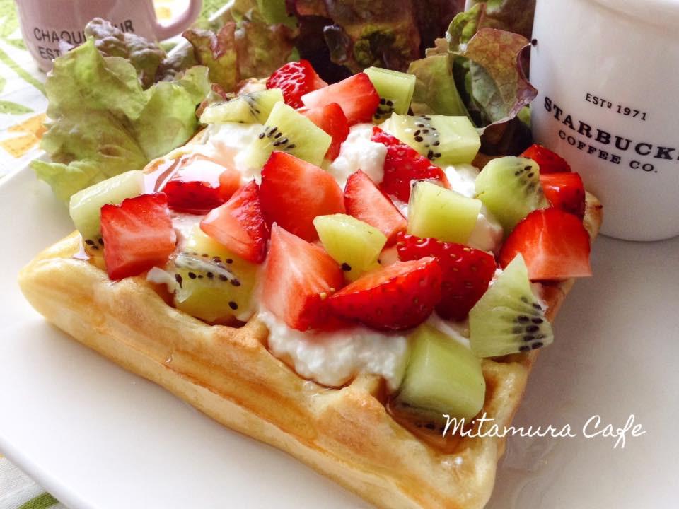 希臘優格水果鬆餅