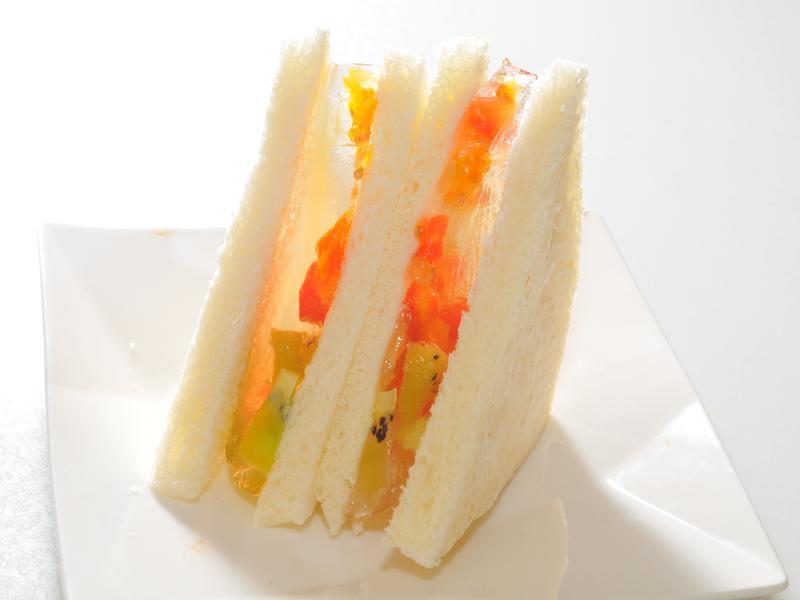 低卡高纖 - 蒟篛水果三明治