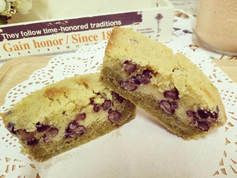 抹茶蜜紅豆雙色磅蛋糕 下午茶系列