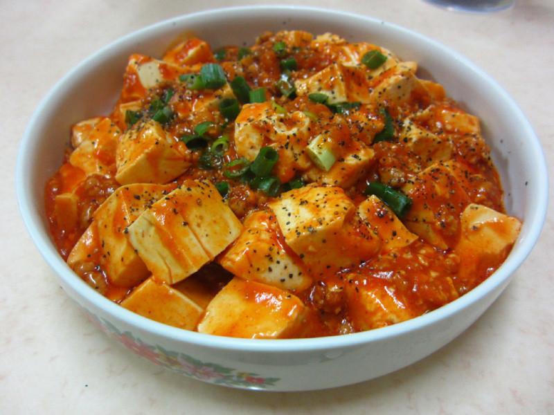 ♥我的手作料理♥ 韓式麻婆豆腐