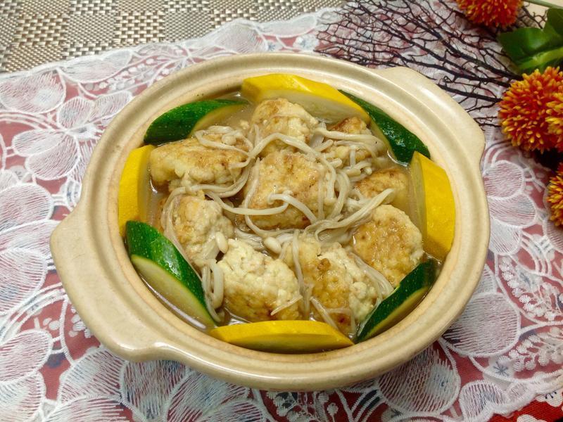 醬燒豆腐雞肉丸