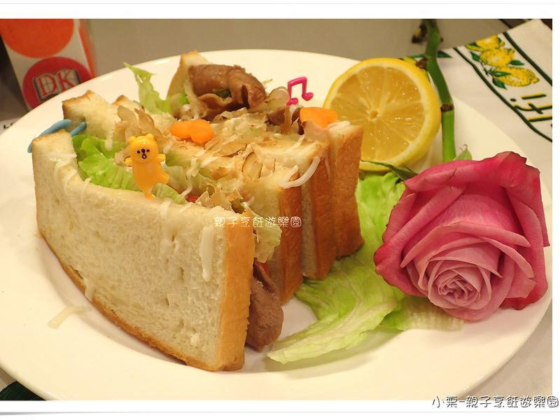 野餐趣~夾心吐司佐蜂蜜醬燒豚