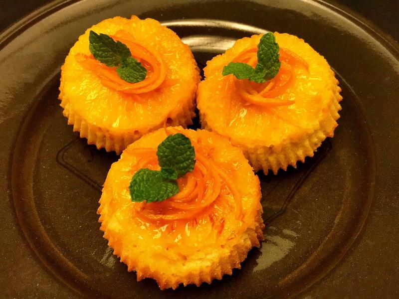 Orange Cup Cake 柳橙蛋糕