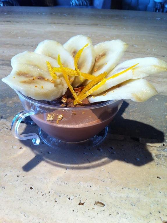 香蕉巧克力慕斯