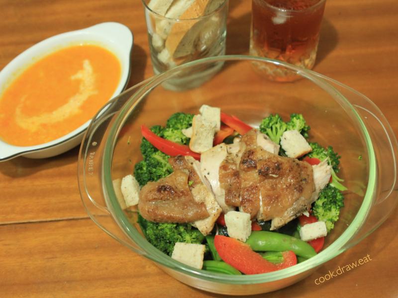 雞肉溫沙拉