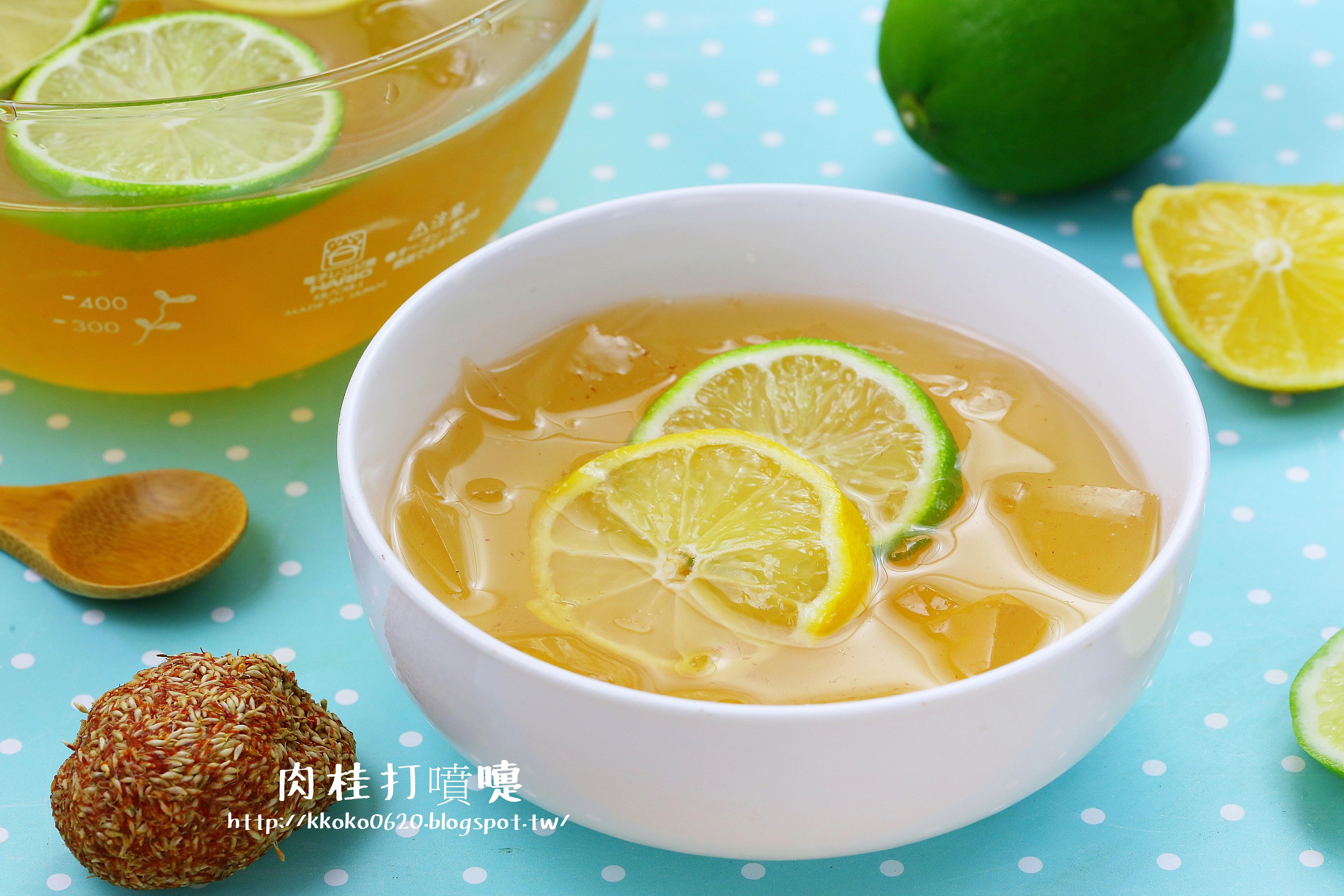 自製檸檬手洗愛玉【3M龍頭式過濾器】