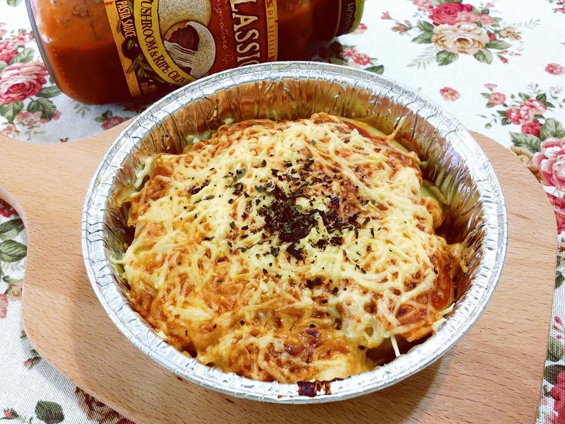 焗烤馬鈴薯千層派_CLASSICO義麵醬