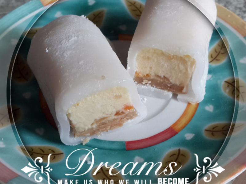 冰Q橘蜜乳酪蛋糕卷