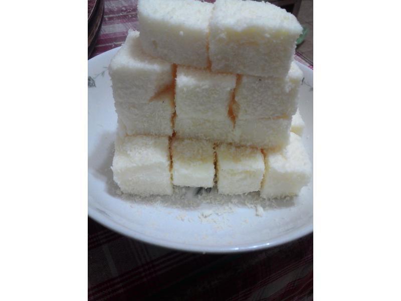 冰涼小點心~椰絲鮮奶雪花膏