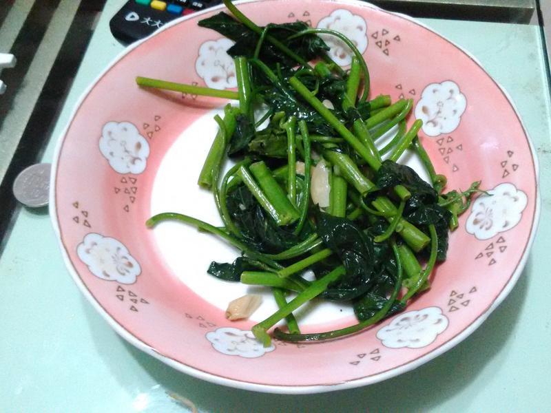 熱炒水生空心菜