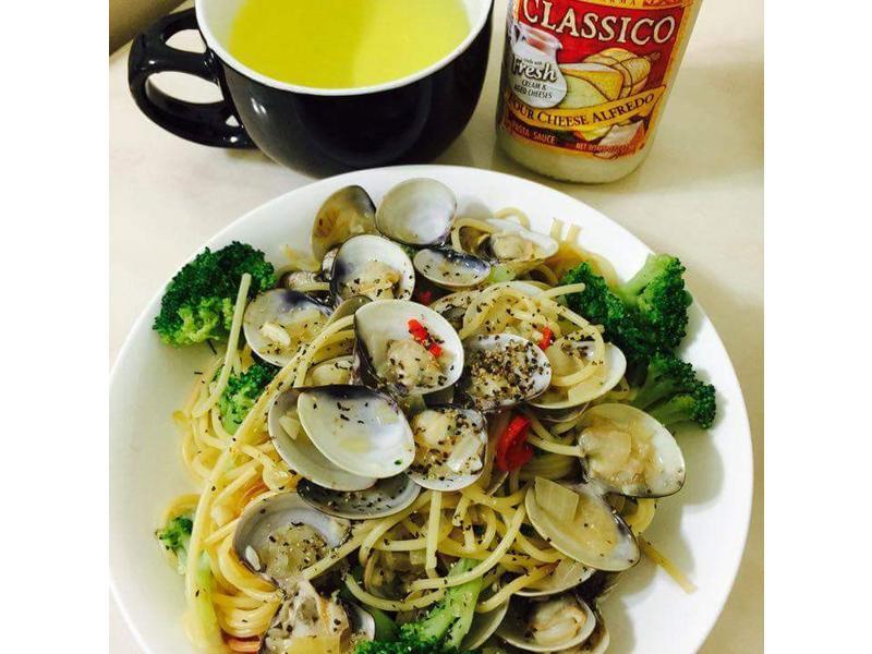 蛤蠣義大利麵_CLASSICO義麵醬