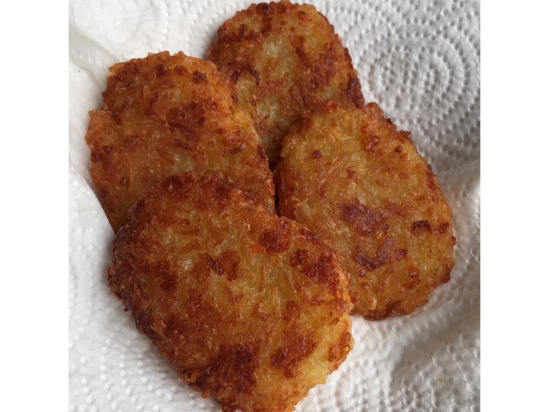 芝士马铃薯饼