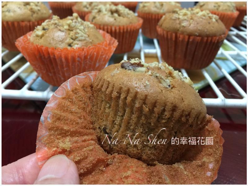 桂圓核桃杯子蛋糕