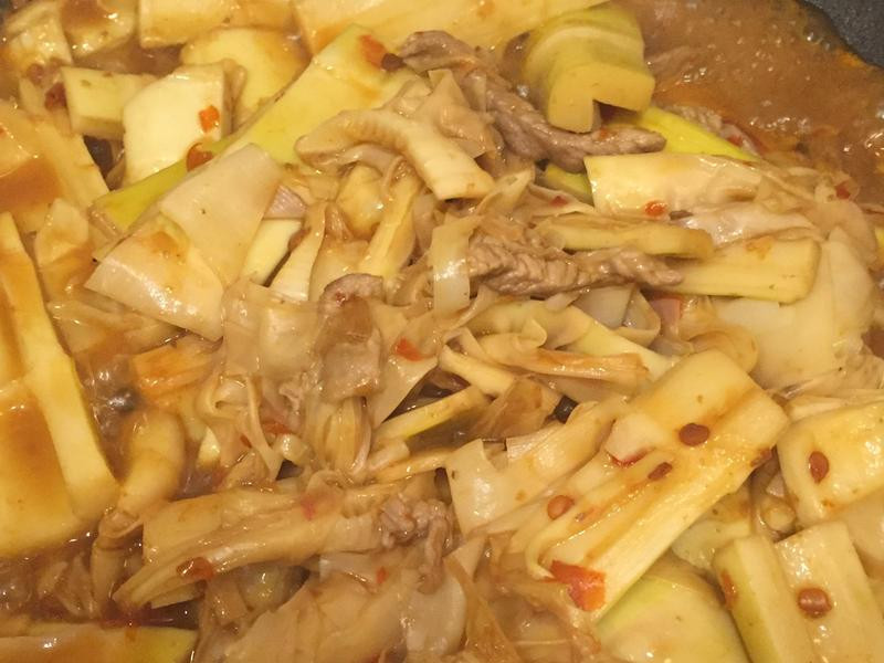 醬炒肉絲桂竹筍