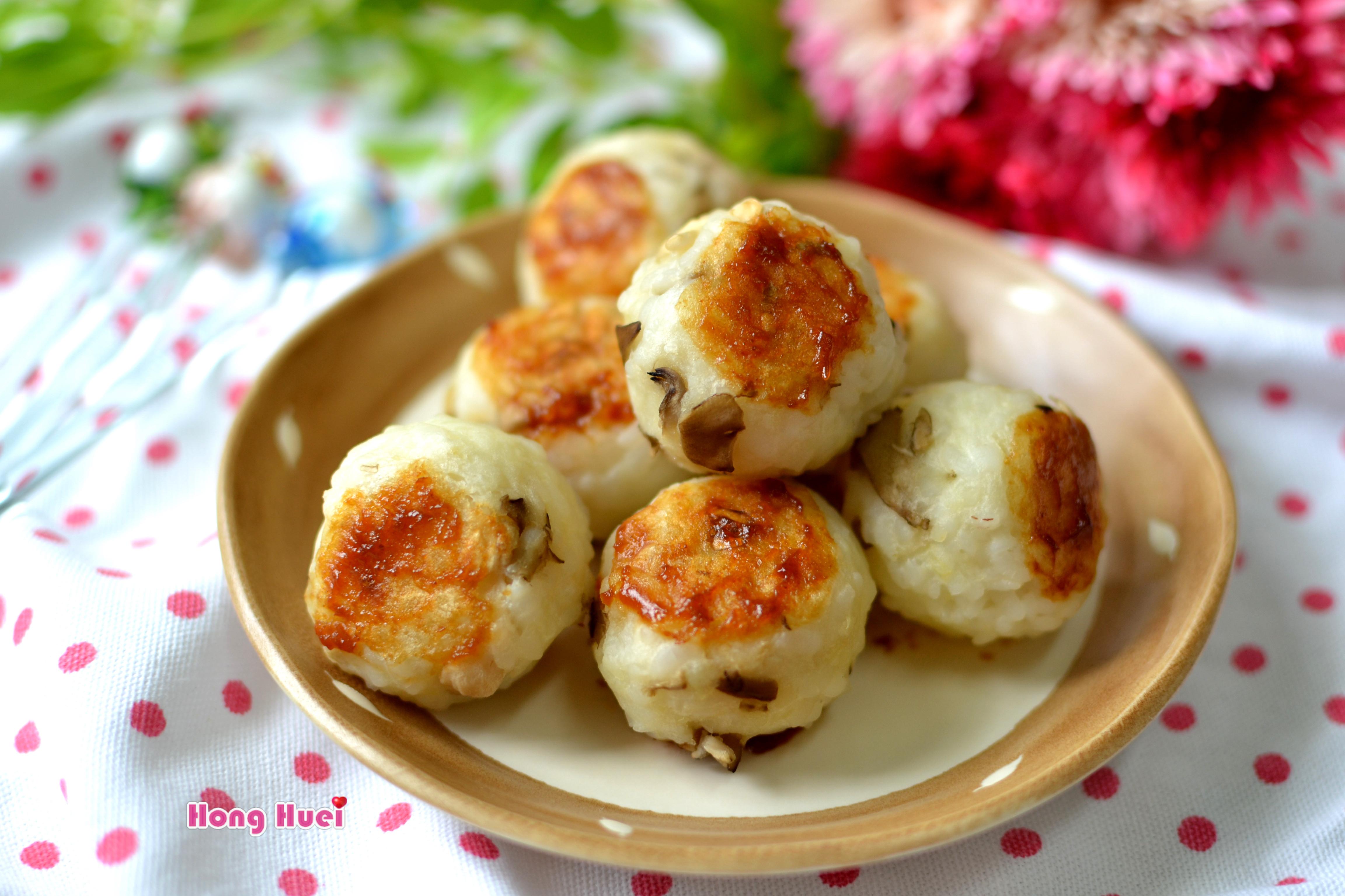 薯泥菇菇米丸子【好菇道美味家廚】