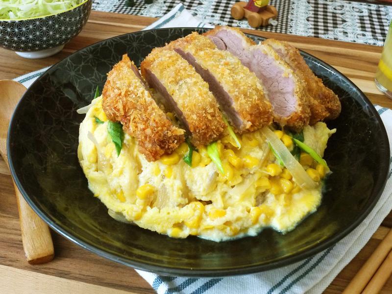 厚切豬排玉米蛋丼飯【全聯24節氣料理】