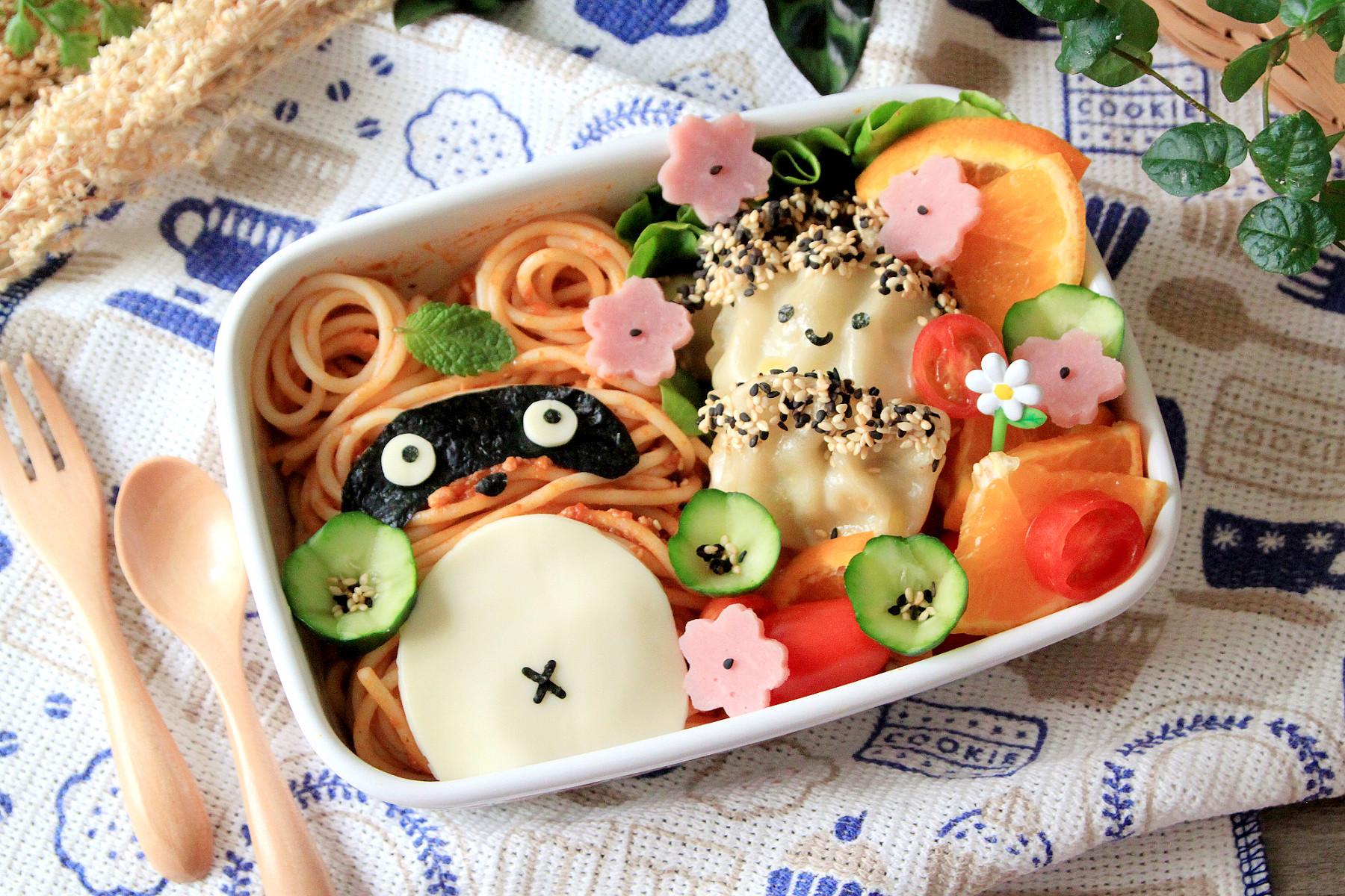 餃子義大利麵野餐盒【全聯24節氣料理 】