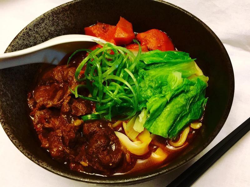 中西合併料理之牛肉麵