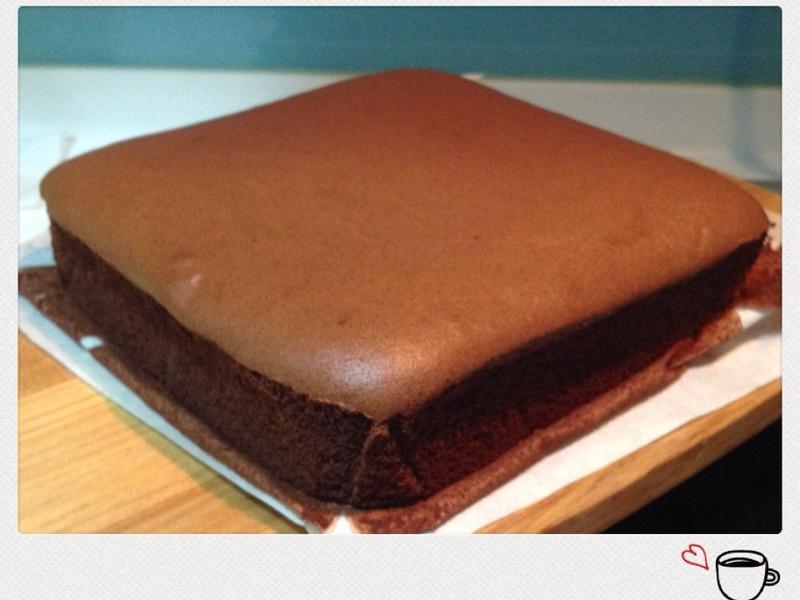 可可枕頭蛋糕