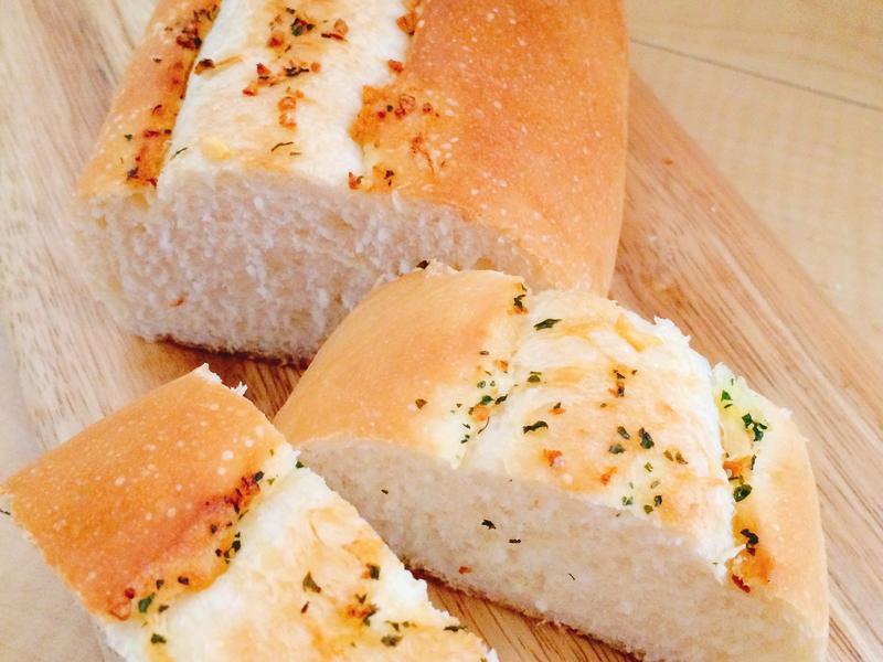 軟式大蒜麵包