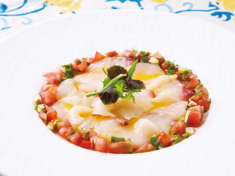 東販小食堂:南美風香檸鯛魚繽紛沙拉